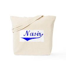 Nasir Vintage (Blue) Tote Bag