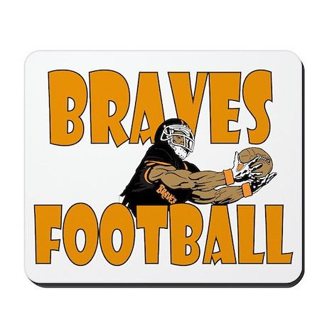 BRAVES FOOTBALL Mousepad