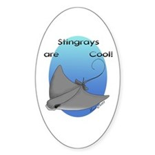 Stingray Oval Decal