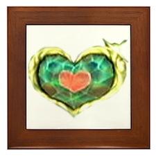 Cute Zelda Framed Tile