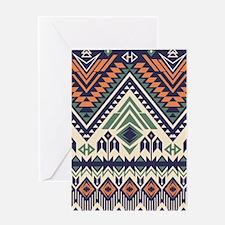 Native Pattern Greeting Card