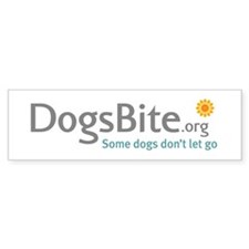 Black Bumper Sticker - DogsBite.org