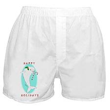 Christmas Beluga Boxer Shorts