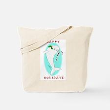 Christmas Beluga Tote Bag