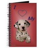 Dalmatian journal Journals & Spiral Notebooks