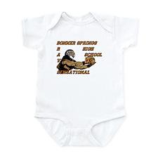 Football Infant Bodysuit