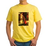 Accolade / Collie (s&w) Yellow T-Shirt