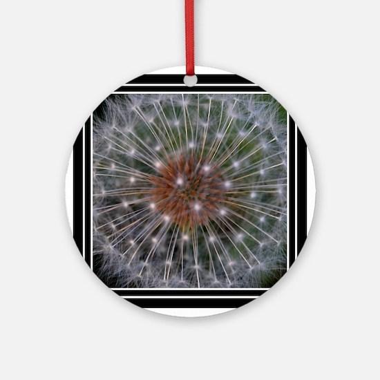 Wind Blown Ornament (Round)