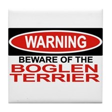 BOGLEN TERRIER Tile Coaster