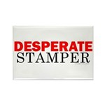 Desperate Stamper Rectangle Magnet (100 pack)