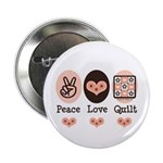 Peace Love Quilt Quilting 2.25