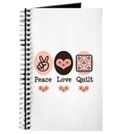 Peace Love Quilt Quilting Journal