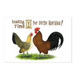 Dutch Bantam Time! Postcards (Package of 8)