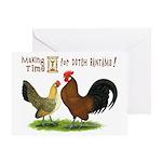 Dutch Bantam Time! Greeting Card