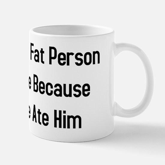 Inside Fat Person Mug