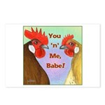 You N Me Babe! Postcards (Package of 8)