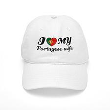 I love my portuguese wife Baseball Cap