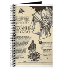 Unique Alexander great Journal