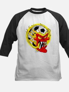 Soccer Skull Baseball Jersey