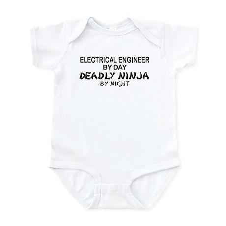 Electrical Engineer Deadly Ninja Infant Bodysuit