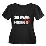 Off Duty Software Engineer Women's Plus Size Scoop