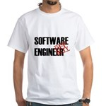Off Duty Software Engineer White T-Shirt