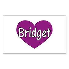 Bridget Rectangle Decal