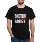 Off Duty Sketch Artist Dark T-Shirt