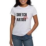 Off Duty Sketch Artist Women's T-Shirt