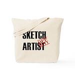 Off Duty Sketch Artist Tote Bag