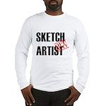 Off Duty Sketch Artist Long Sleeve T-Shirt