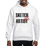 Off Duty Sketch Artist Hooded Sweatshirt