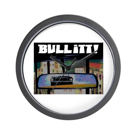 ULTIMATE CAR CHASE! Wall Clock