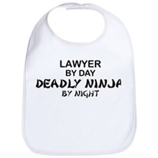 Lawyer Deadly Ninja Bib