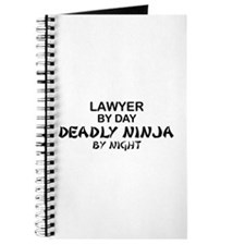Lawyer Deadly Ninja Journal