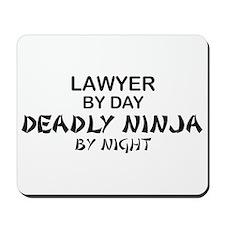 Lawyer Deadly Ninja Mousepad