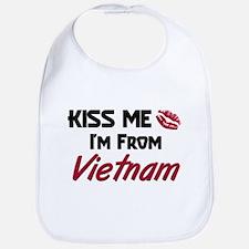 Kiss Me I'm from Vietnam Bib
