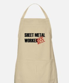 Off Duty Sheet Metal Worker BBQ Apron