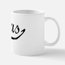 Matias Vintage (Black) Mug
