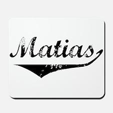 Matias Vintage (Black) Mousepad
