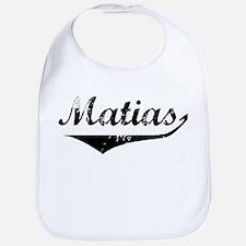 Matias Vintage (Black) Bib