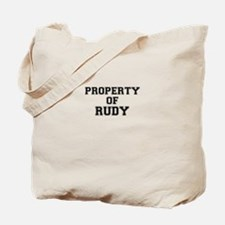 Property of RUDY Tote Bag