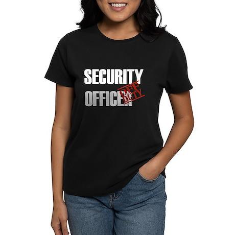 Off Duty Security Officer Women's Dark T-Shirt