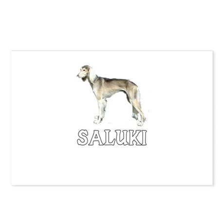 Saluki Postcards (Package of 8)