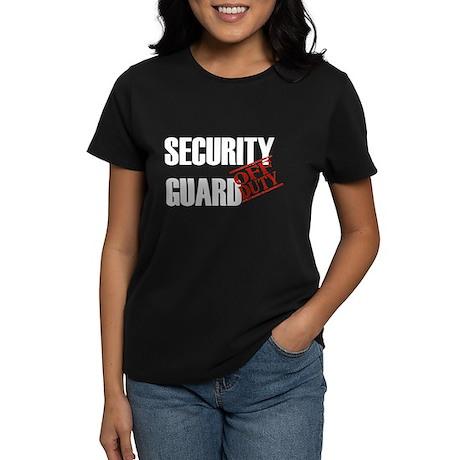 Off Duty Security Guard Women's Dark T-Shirt