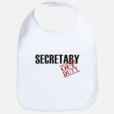 Off Duty Secretary Bib