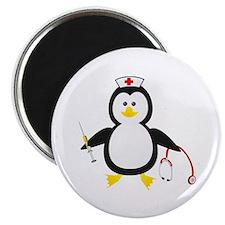 Penguin Nurse Magnet