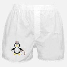 Penguin Nurse Boxer Shorts