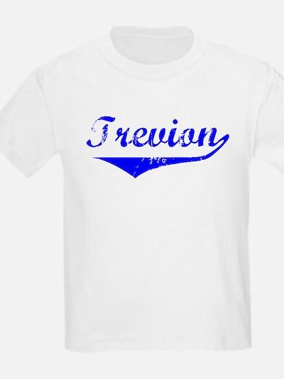 Trevion Vintage (Blue) T-Shirt