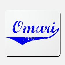 Omari Vintage (Blue) Mousepad